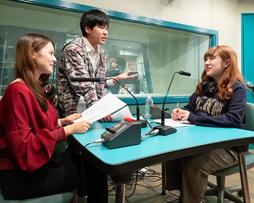 放送音響科「ラジオ番組を制作しよう!」