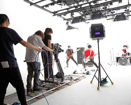 プロモーション映像科「ミュージックビデオ制作体験」