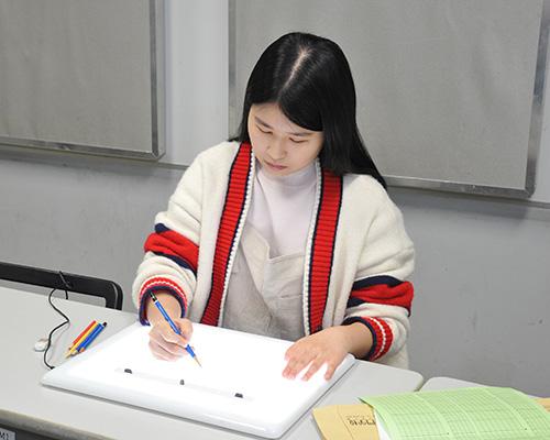 アニメーション・CG科「アニメ制作体験」