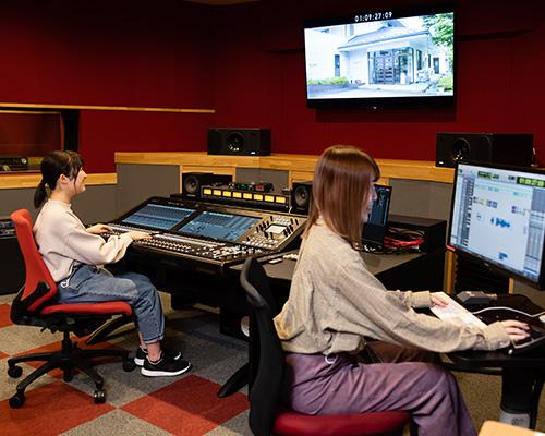 音響技術科「映像に音楽や効果音をつけてみよう!」