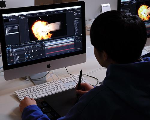 映画VFX専攻科「VFX制作体験」